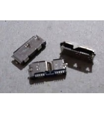 micro USB 3.0 femmina 2 fissaggi verticali 10pin