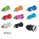 Adattatore auto con 2 porte USB: 2.1 - 1 Ampere