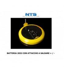 BATTERIA 2032 LITHIUM