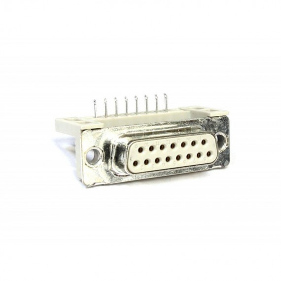 Connettore Porta Seriale Presa Femmina DB15 Pin